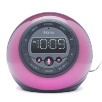 iHome App-Enhanced Bluetooth® Color Changing Clock Radio